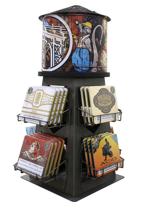 Cigar News: Drew Estate Announces New Additions to Tin Collection and Displays