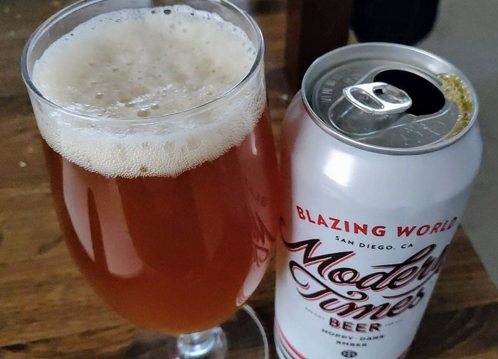 Personal Beer Review: Modern Times Blazing World