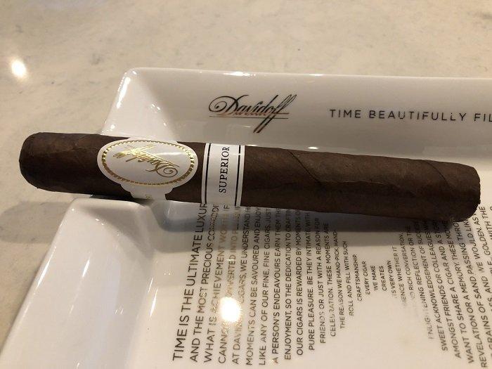 Personal Cigar Review: Davidoff Superior - Developing