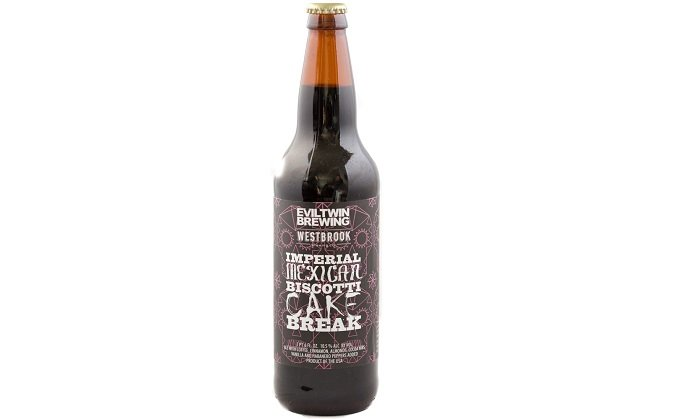 Personal Beer Review: Evil Twin / Westbrook Imperial Mexican Biscotti Cake Break