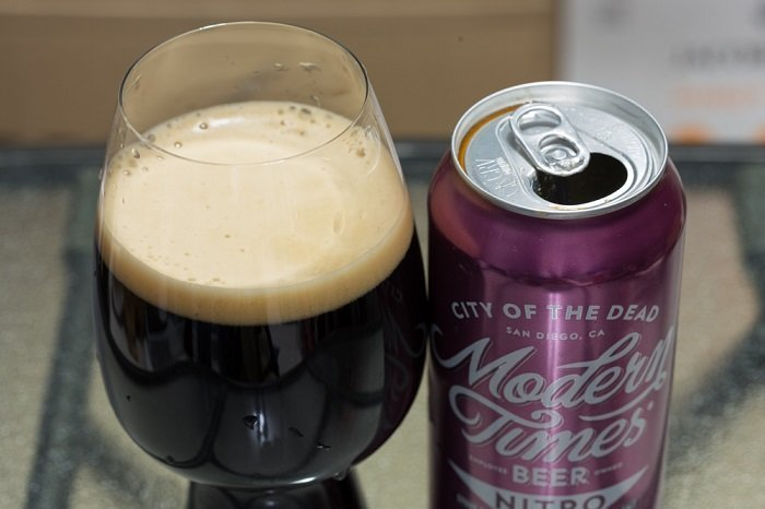 Personal Beer Review: Modern Times City Of The Dead Nitro