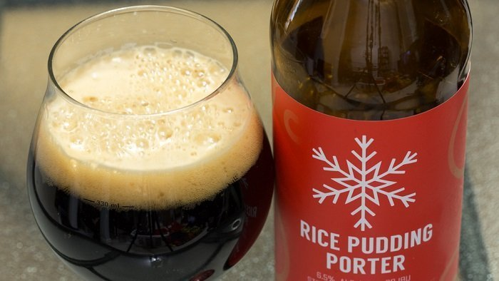 Personal Beer Review: 4 Mile Rice Pudding Porter