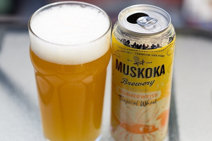 Personal Beer Review: Muskoka Summerweiss Tropical Wheat