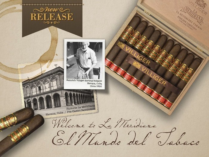 Cigar News: Villiger Announces La Meridiana Coming to the U.S.