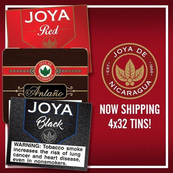 Cigar News: Joya de Nicaragua Releases Trio of Tins