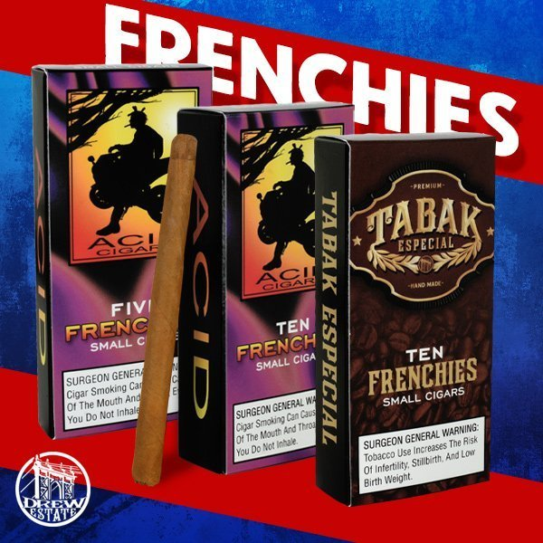 Cigar News: Drew Estate Announces Frenchies for ACID and Tabak Especial