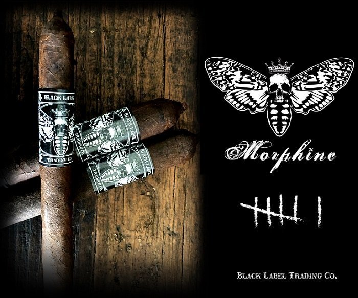 Cigar News: Black Label Trading Company Morphine 2019 Announced