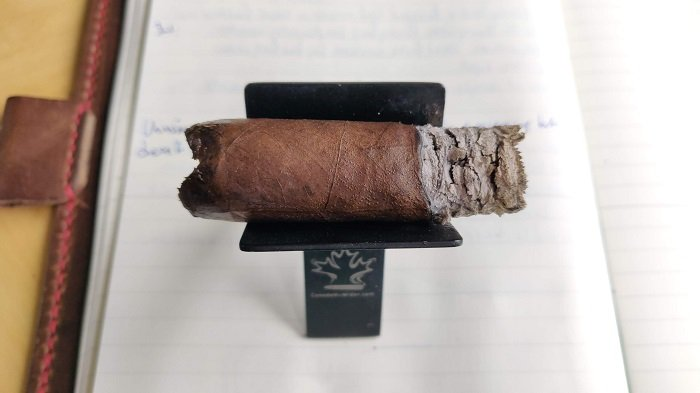 Team Cigar Review: Diesel Whiskey Row Sherry Cask Robusto