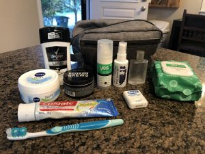 IPCPR 2019: What's In My Trade Show Floor Toiletry Kit - Seth Geise