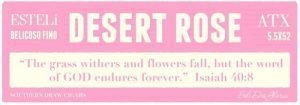 Cigar News: Southern Draw Rose of Sharon Desert Rose Announced