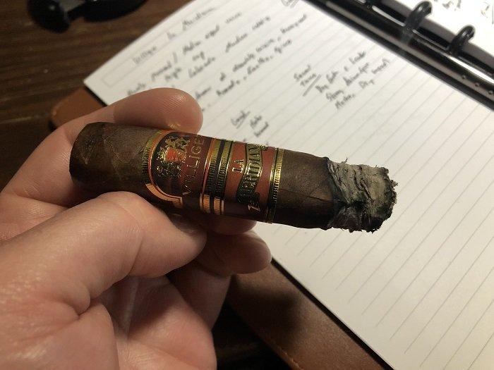 Team Cigar Review: Villiger La Meridiana Toro Box Press