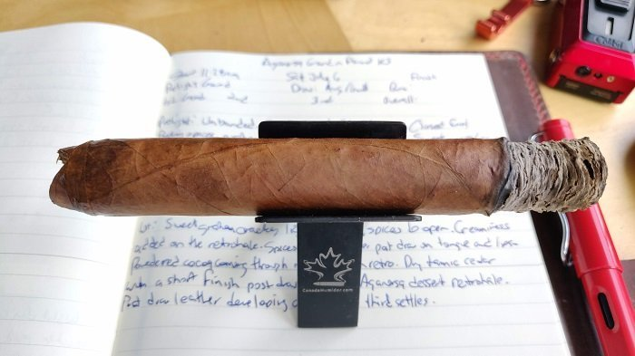 Team Cigar Review: Aganorsa Leaf Ground N Pound Knuckle Sandwich
