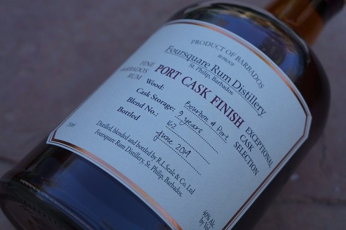 Personal Spirit Review: Foursquare Rum Distillery Port Cask Finish
