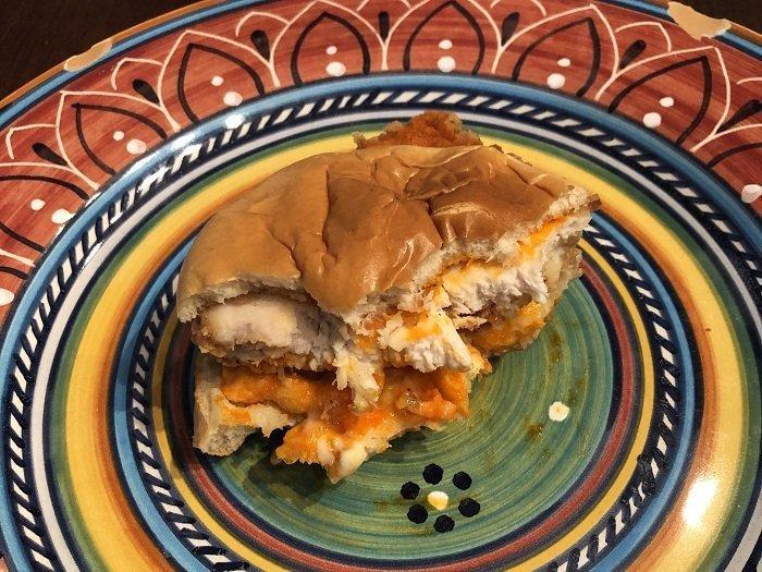 Kentucky Fried Chicken Cheetos Sandwich