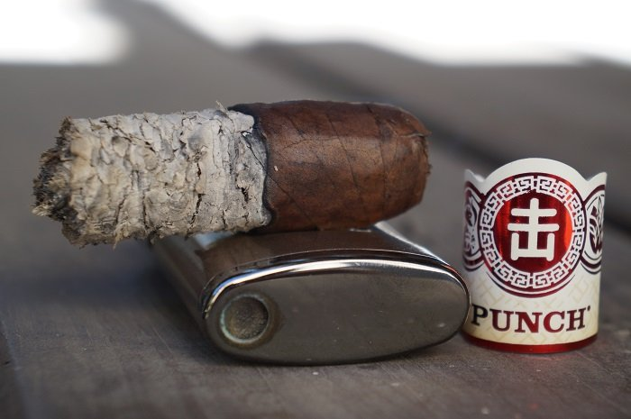 Team Cigar Review: Punch Egg Roll