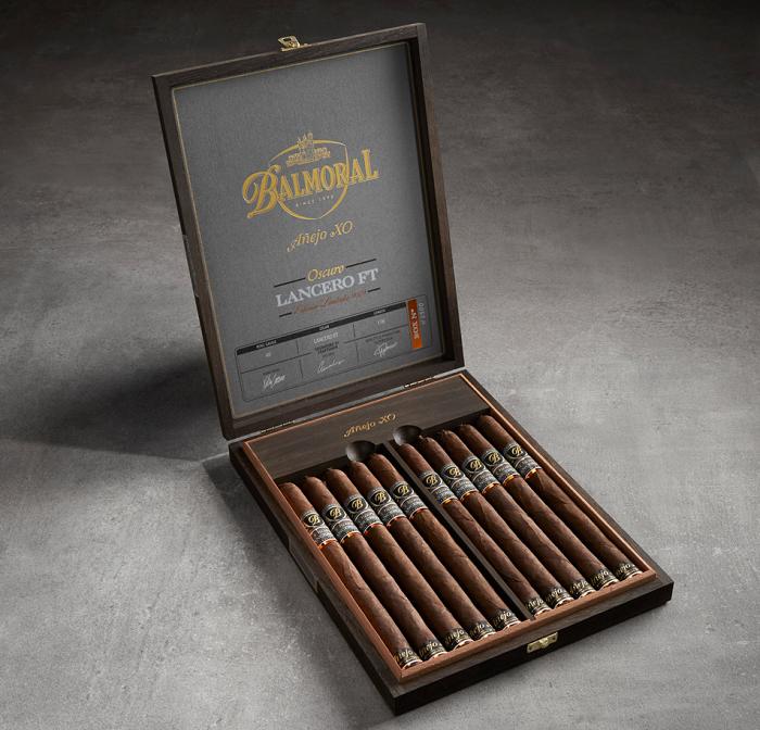 Cigar News: Limited Edition Balmoral Añejo XO Oscuro Lancero FT Announced