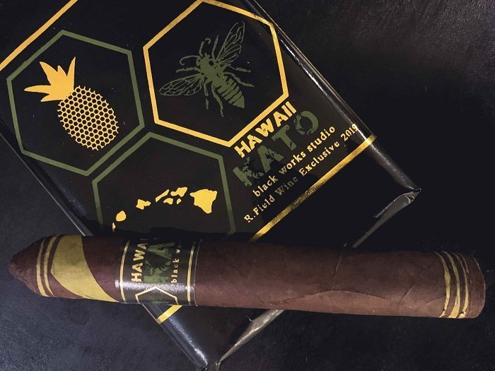 Cigar News: Black Label Trading Company Hawaii KATO is Latest R. Field Wine Co. Exclusive