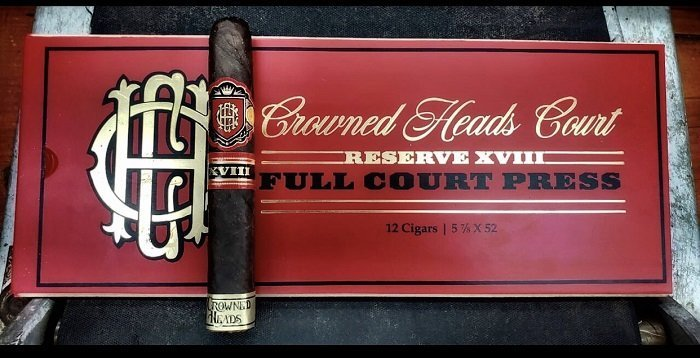 Cigar News: Crowned Heads Court Reserve XVIII Full Court Press Announced