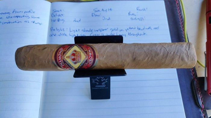 Team Cigar Review: Diamond Crown Robusto No. 4