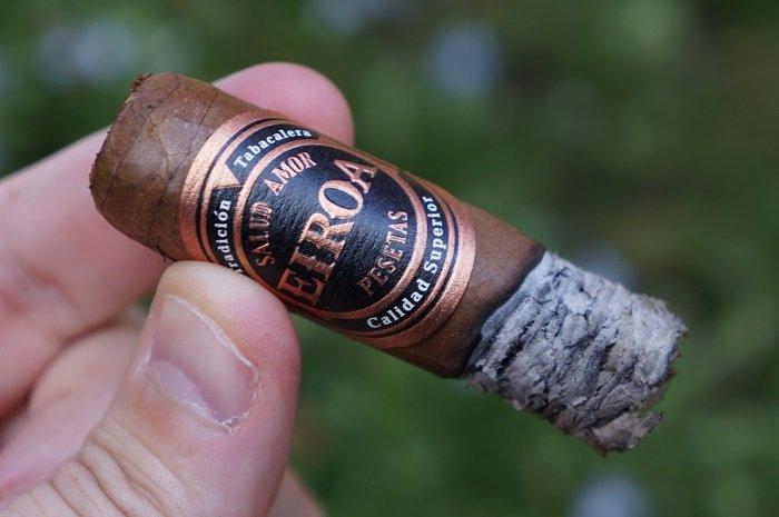 Team Cigar Review: Eiroa Dark 50x5