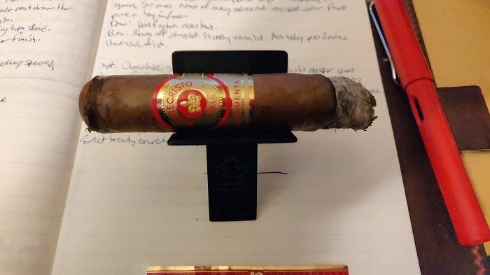 Team Cigar Review: Montecristo Cincuenta Toro