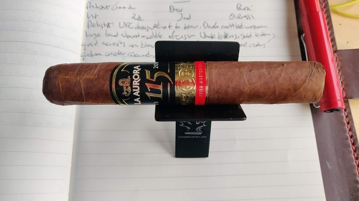 Team Cigar Review: La Aurora 115th Anniversary Regular Production Robusto
