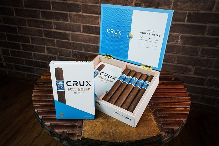 Cigar News: Newly Branded Crux Bull & Bear Begins Shipping This Week Along With New Toro Vitola
