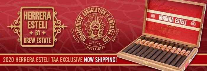 Cigar News: Herrera Esteli TAA Exclusive 2020 Announced
