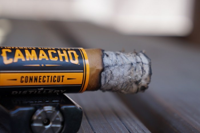 Team Cigar Review: Camacho Distillery Edition Connecticut Toro