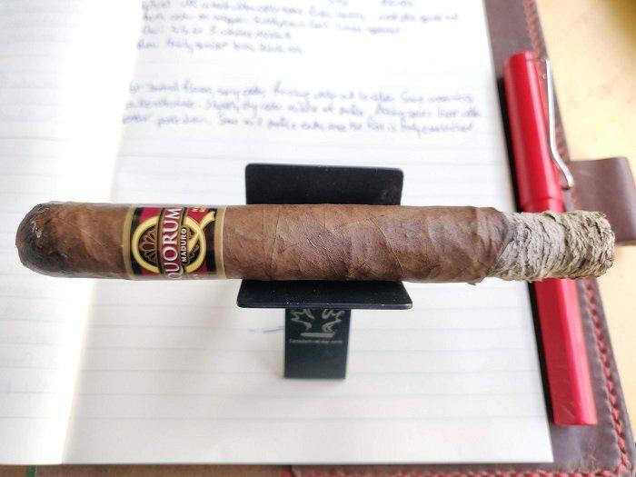 Team Cigar Review: Quorum Maduro Toro