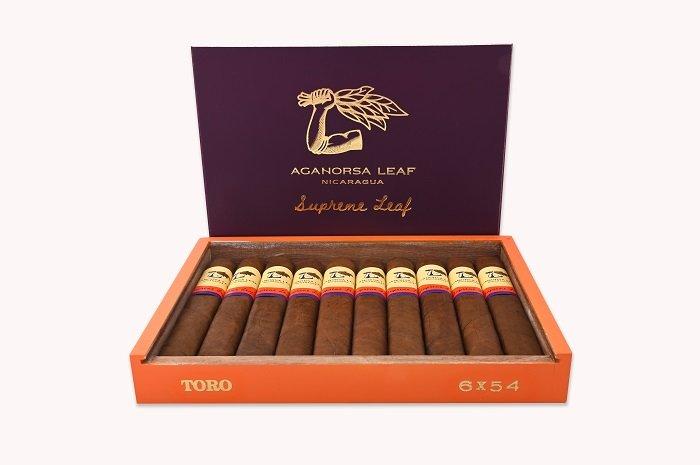 Cigar News: Aganorsa Leaf Supreme Leaf Toro Announced