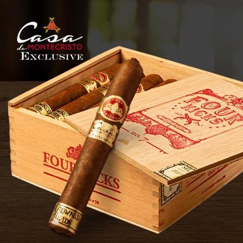 Cigar News: Crowned Heads Four Kicks No. 7 Announced as Exclusive for Casa de Montecristo