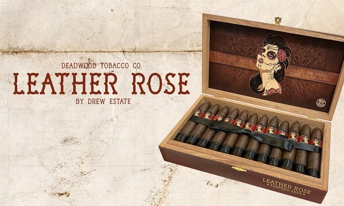 Cigar News: Drew Estate Announces Deadwood Leather Rose