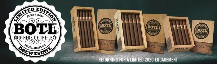 Cigar News: Drew Estate BOTL Brown Label 2020 Announced