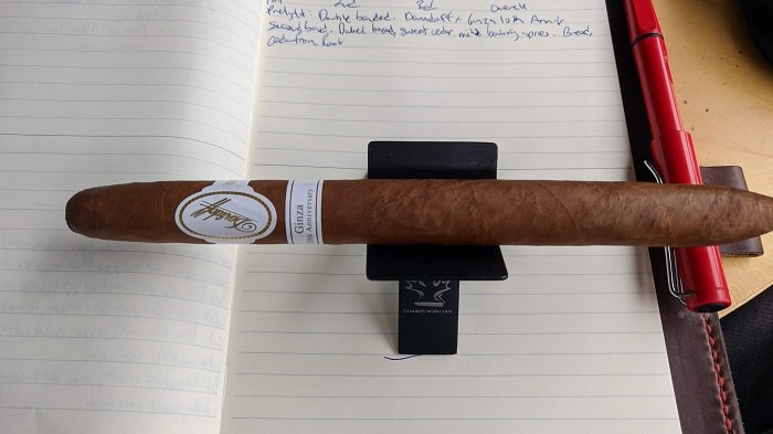 Team Cigar Review: Davidoff Ginza 10th Anniversary