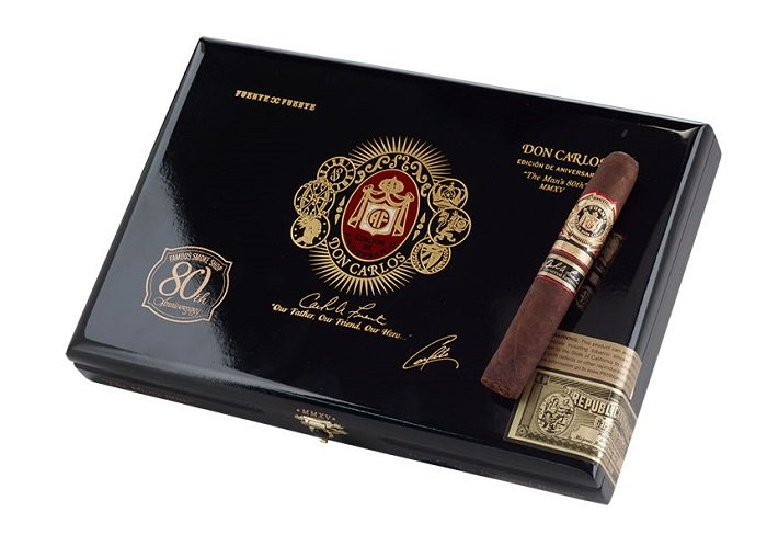 Cigar News: Famous Teams With Arturo Fuente For Fuente Don Carlos Personal Reserve Famous 80th Anniversary Edition