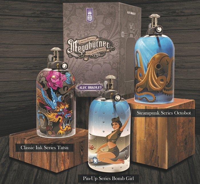 Cigar News: Alec Bradley Announces Limited Edition Megaburner Lighters