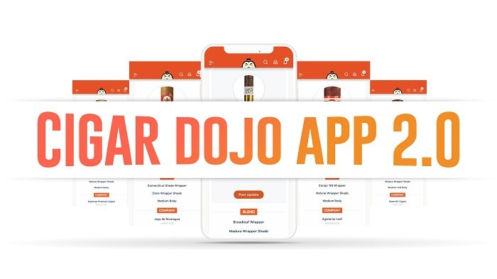 Cigar News: Cigar Dojo Releases Version 2.0 of its App