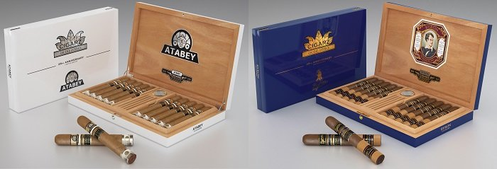 Cigar News: Cigarz on the Ave Celebrates 25th Anniversary With Commemorative Atabey and Byron Humidors