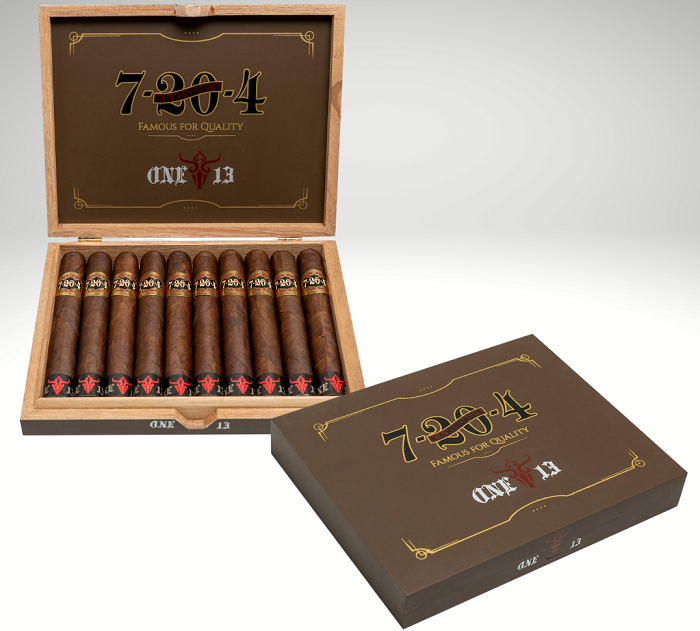 Cigar News: 7-20-4 and One13 Collaborate on Limited Edition for Club Humidor