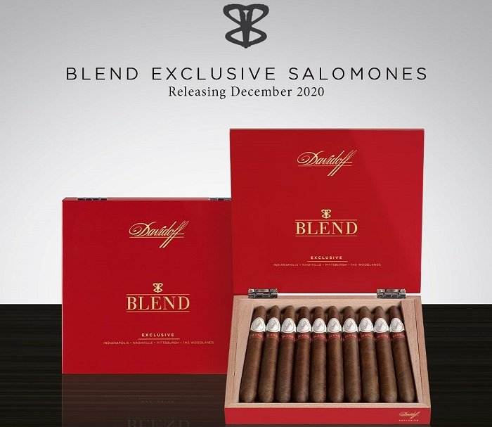 Cigar News: Davidoff and BLEND Bar Collaborate on The BLEND Exclusive Salomones