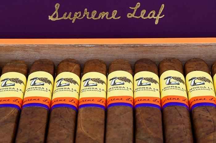 Cigar News: Aganorsa Leaf Supreme Leaf Corona Gorda Announced