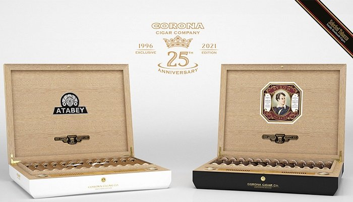 Cigar News: Corona Cigar 25th Anniversary Limited Edition Atabey and Byron Humidors and Cigars Announced