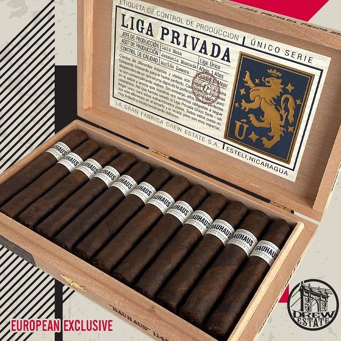 Cigar News: Drew Estate Liga Privada Unico Serie Bauhaus Announced as European Exclusive