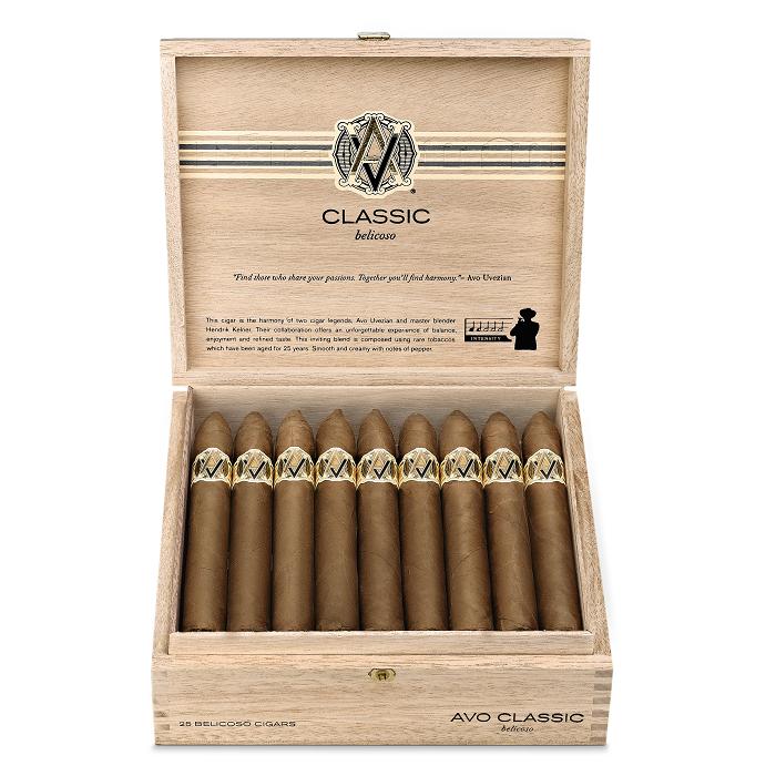 Cigar News: AVO Classic Belicoso Returns