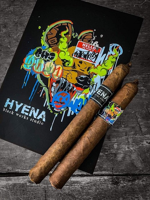 Cigar News: Black Works Studio Hyena Announced
