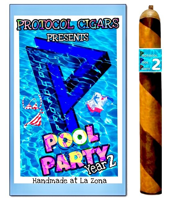 Cigar News: Protocol Pool Party Year 2 Cigar and Event Announced