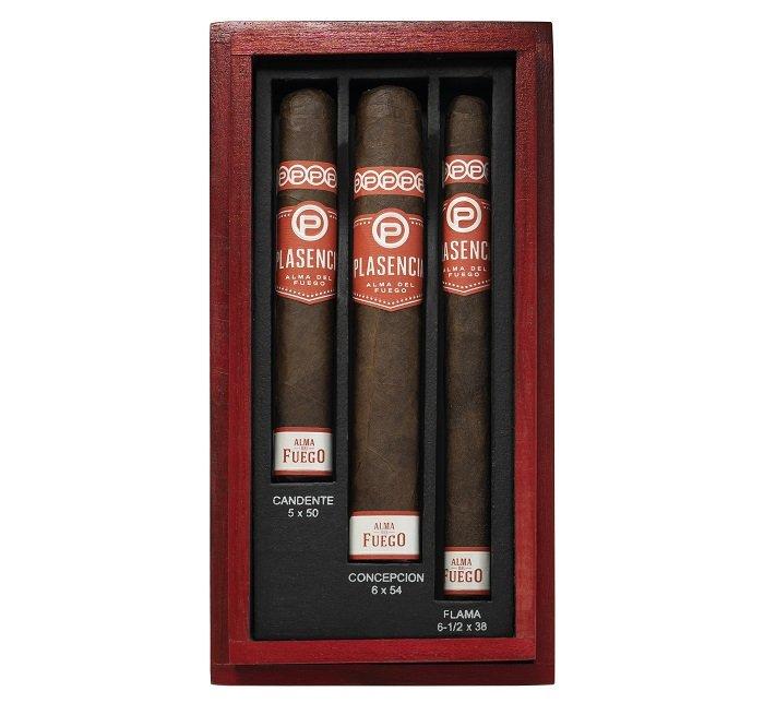 Cigar News: Plasencia Alma del Fuego Three Pack Sampler Begins Shipping