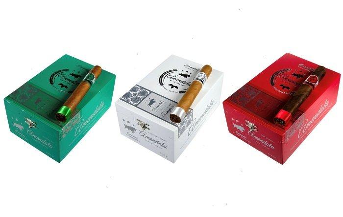 Cigar News: Amendola Releases Cannoli Green and Cannoli White