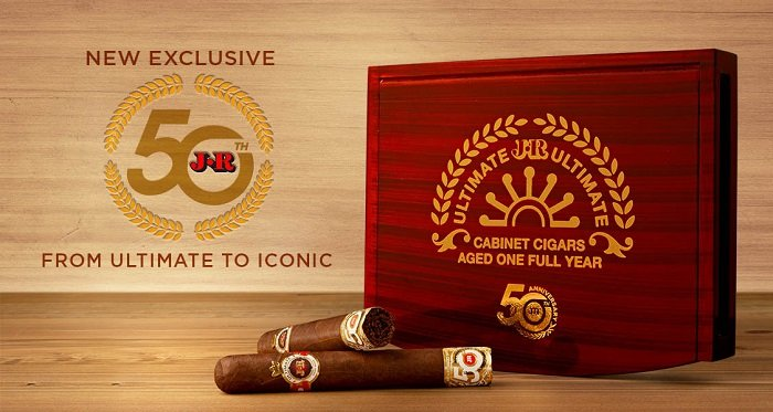Cigar News: JR Ultimate 50th Anniversary Announced